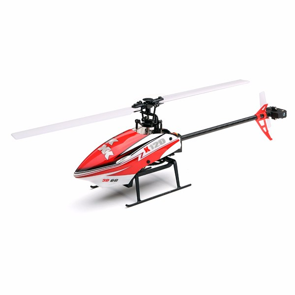 XK K120 Shuttle 6CH Brushless 3D6G System RC Helicopter