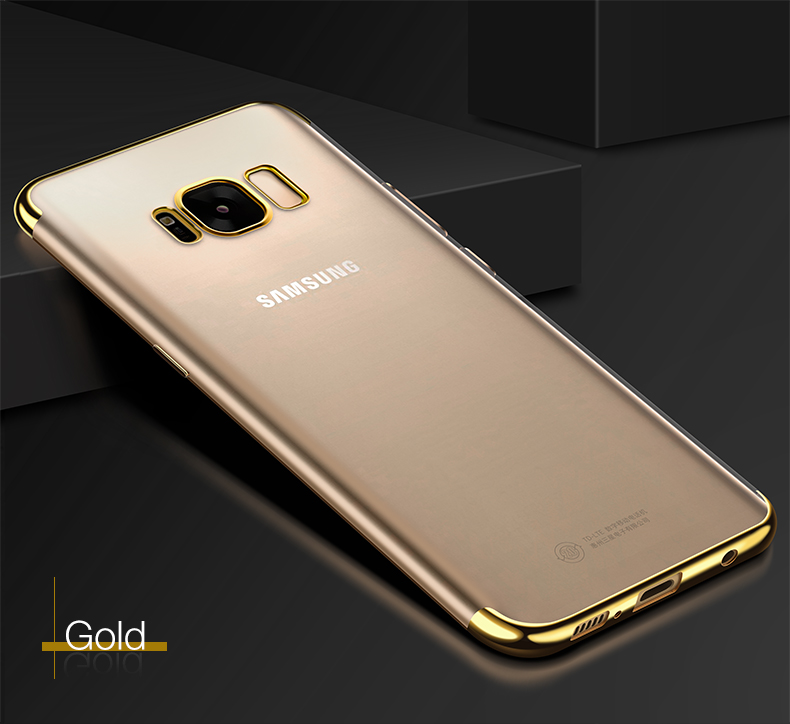 Bakeey Plating Transparent TPU Case For Samsung Galaxy S8