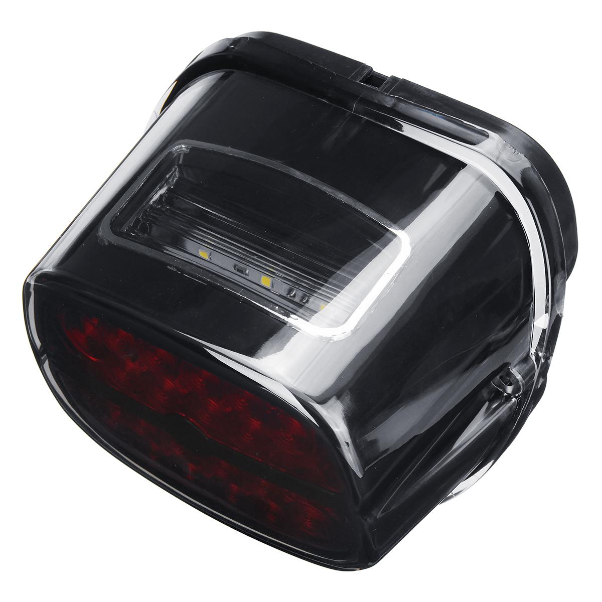 Black Smoke LED Motorcycle Tail Brake Light For Harley Davidson Electra Street Glide