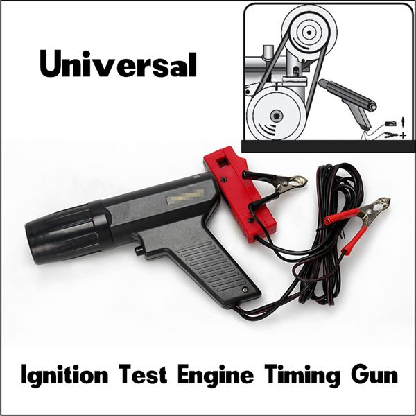 12V Ignition Test Engine Timing Light Cylinder Car Motorcycle Detector Vehicle Maintenance Tool