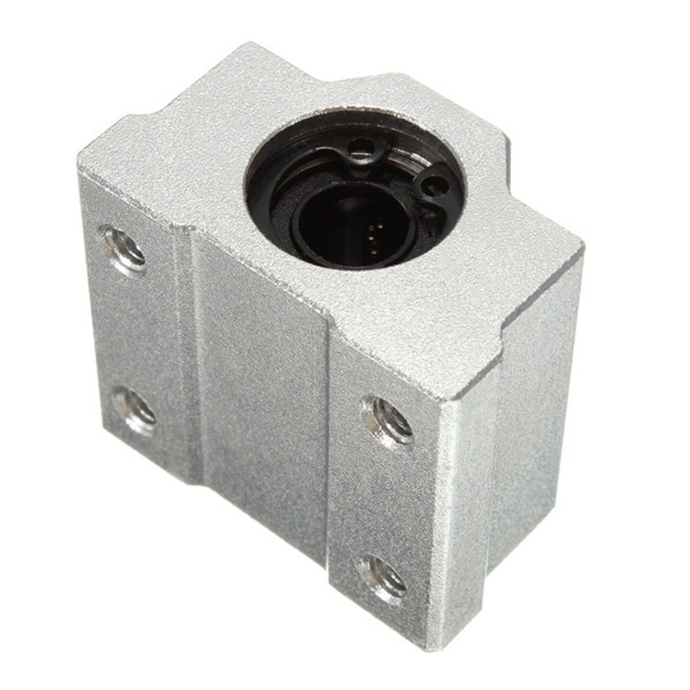 SC8UU 8mm Aluminum Linear Motion Ball Bearing Slide Bushing For CNC