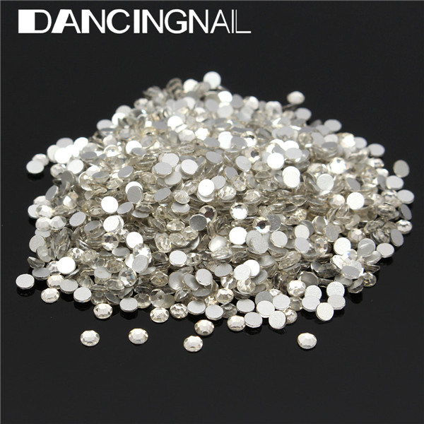 1440Pcs Different Size Rhinestones Nail Art Decoration Crystal Glass For Nails DIY Manicure
