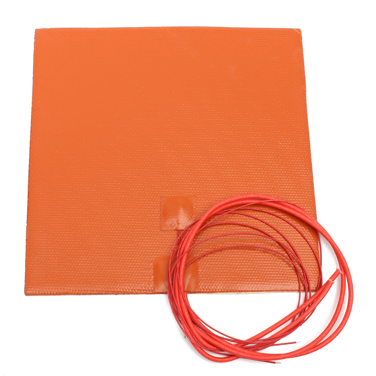 12V 200W 200mmx200mm Waterproof Flexible Silicone Heating Pad Heater For 3d Printer Heat Bed