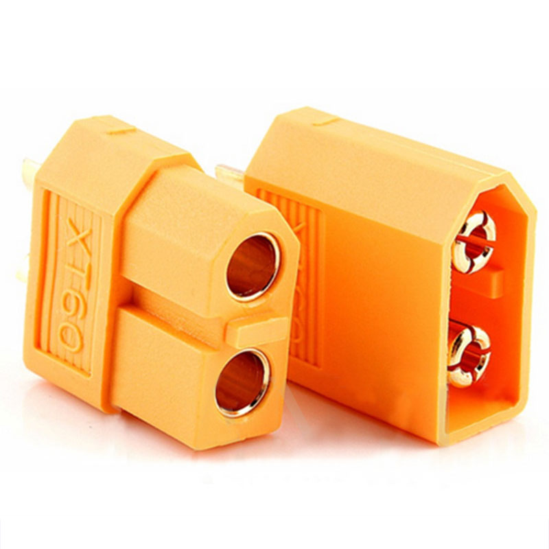 2Pcs XT60 500V 30A Male & Female Bullet Connectors Plug Sockets