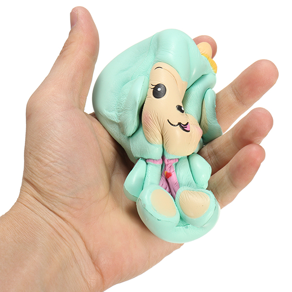 Woow Squishy Monkey Slow Rising 12cm with Original Packaging Blue and Pink