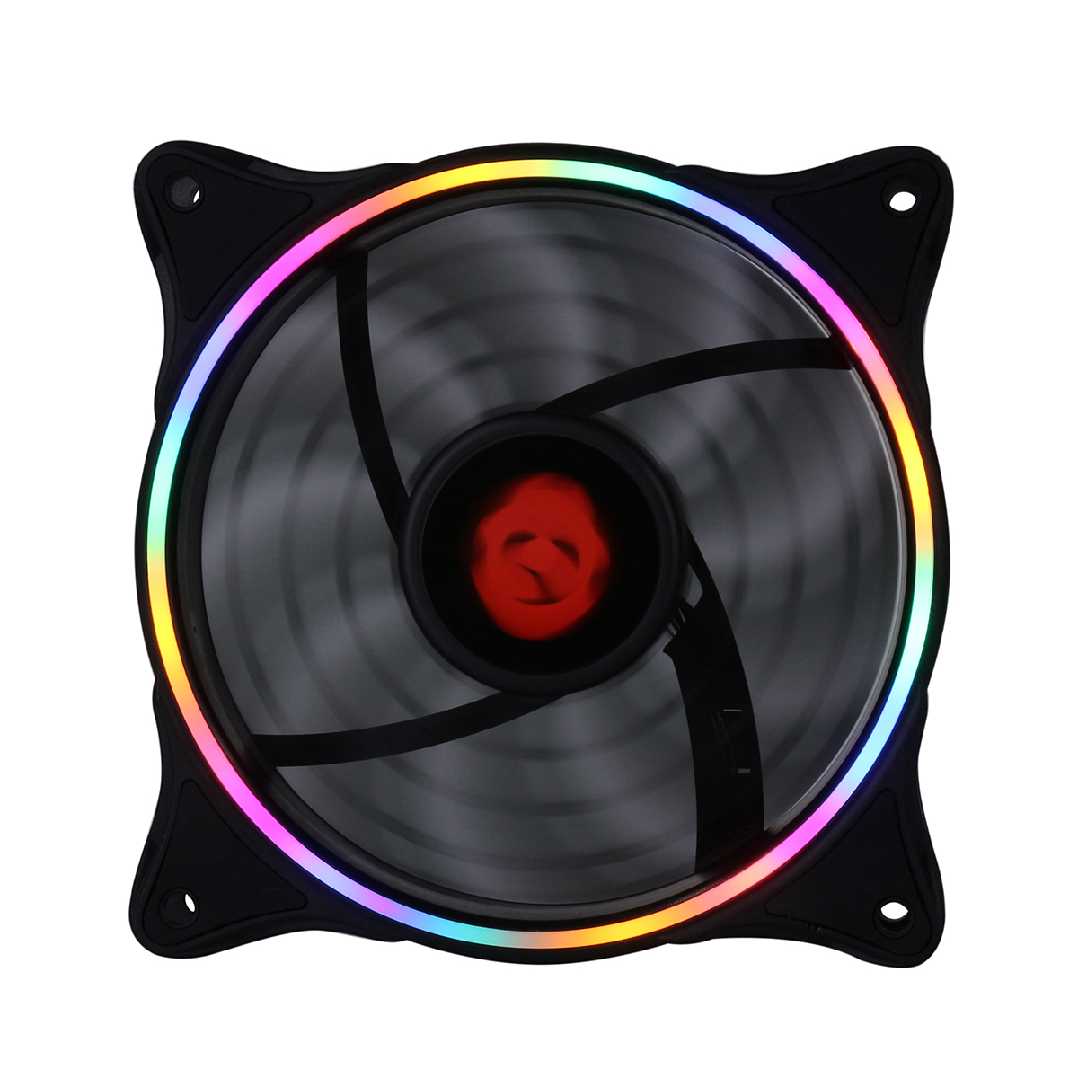 12V DC 3pin 4pin RGB LED Cooling Fan 120mm PC Cooling Fan Hydraulic Bearing 1300RPM Fan