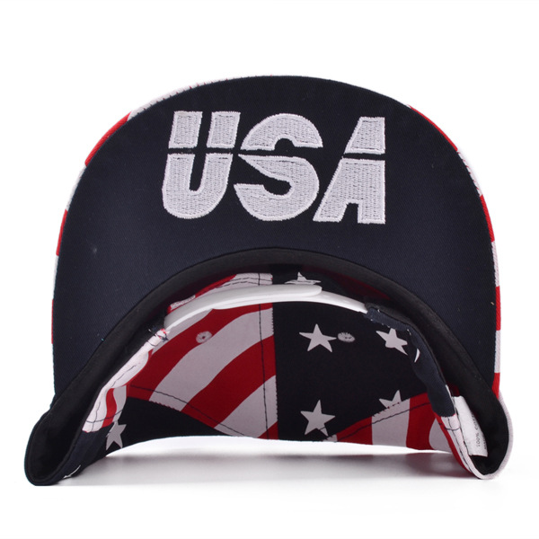Men Women USA Flag Snapback Caps Adjustable Baseball Cap Hip-hop Hats