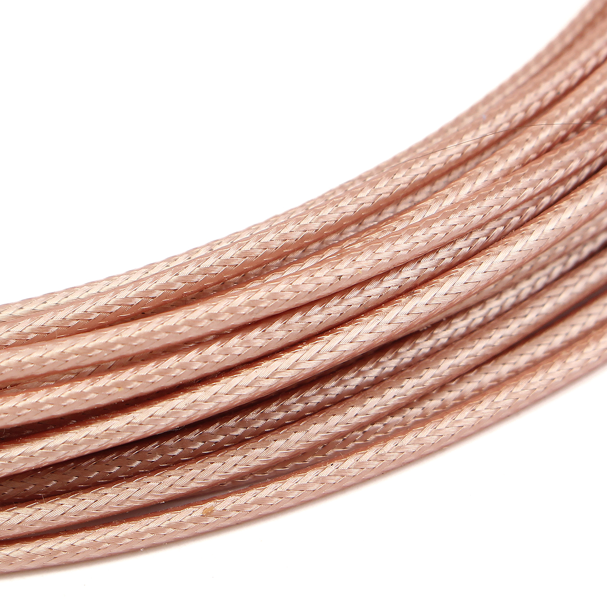 10M RF Coaxial Cable 50ohm M17/113 RG316 Single Shielded Wire