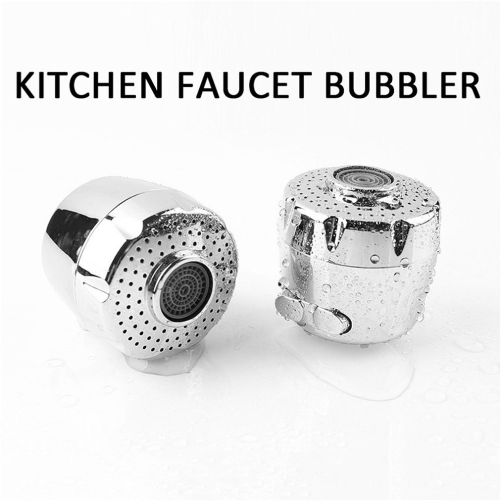 Kitchen Faucet Aerator Water Saving Device Two Water Mode Splash-proof Filter for Home Hotel