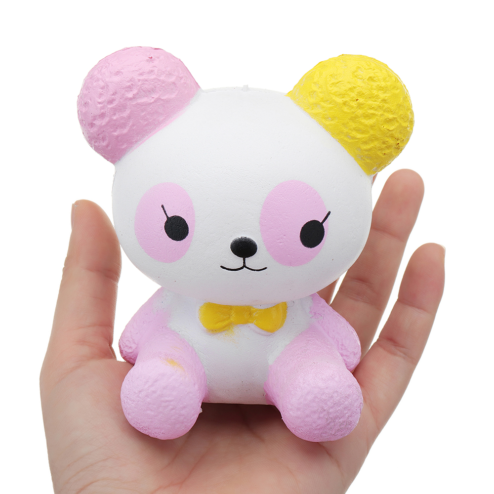 Magic Squishy Machine Panda 9.8x8.8x7.2CM Slow Rising With Packaging Collection Gift Soft Toy