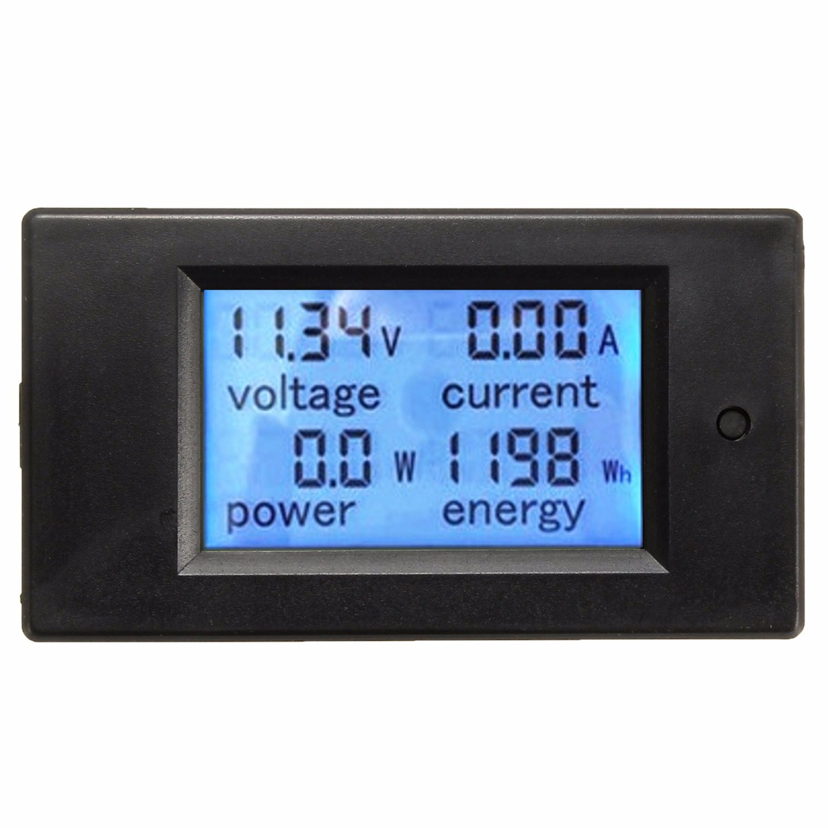 DC 100A LCD Voltage Current Meter Car Battery Panel Power Monitor With Shunt