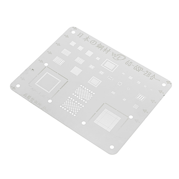 Japan Steel Phone Logic Board BGA Repair Stencil for iPhone 6S 6SP Motherboard IC Chip Ball Soldering Net