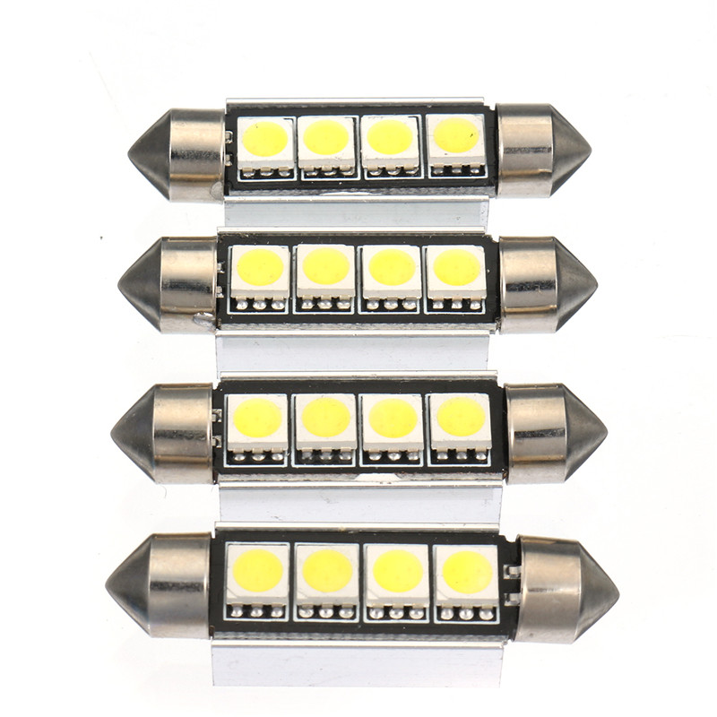21pcs White Car LED Light Interior Dome Lights Bulbs Kit for BMW E46 Sedan M3 1999-2005