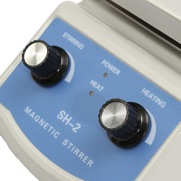 220V SH-2 Hot Plate Magnetic Stirring Health Care Machine with Stir Bar for Lab