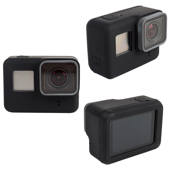 Soft Silicone Case Cover Rubber Shell for GoPro Hero 5 Protective Actioncamera Accessories