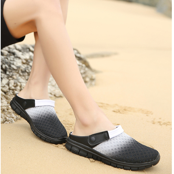 Men Mesh Beach Outdoor Sandals Slipper Shoes