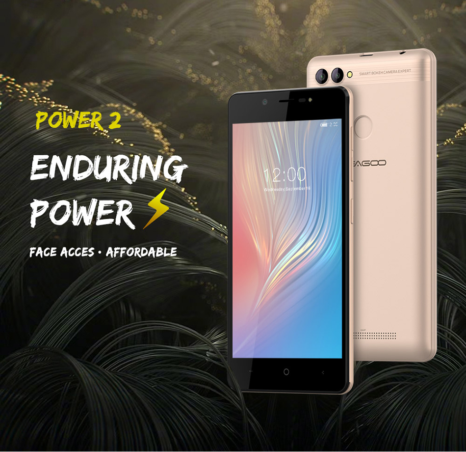 LEAGOO POWER 2 5.0 Inch Dual Rear Cameras 2GB RAM 16GB ROM MT6580A Quad Core 3G Smartphone