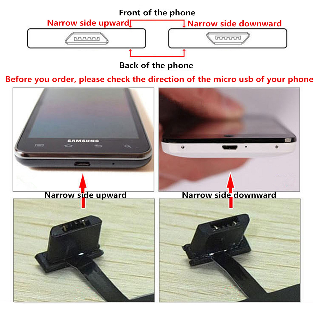 Universal Qi Wireless Charger Charging Receiver Module For Xiaomi Samsung Android Cellphone