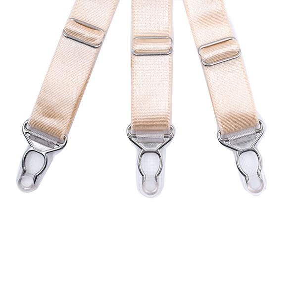 Men Shirt Stays Holder Leg Suspenders Good Elastic Uniform Garter