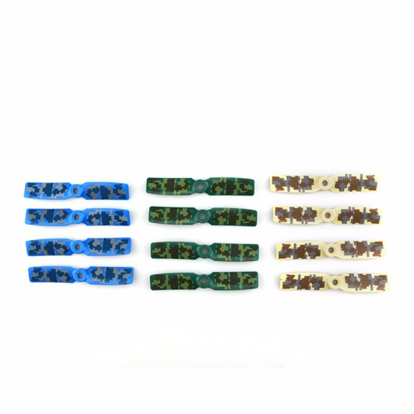 12pcs Original JJRC JJPRO-3545BN 2-blade Camouflage Propeller for QAV130 QAV180 FPV RC Racing Drone