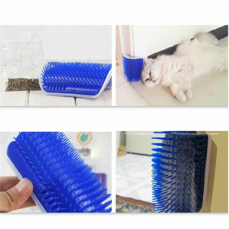Cat Comb Brush Shedding Tool Comb Self Grooming Aid