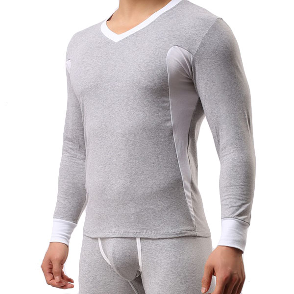 Cotton U Convex Warm Long Johns Bottoming Tight Set