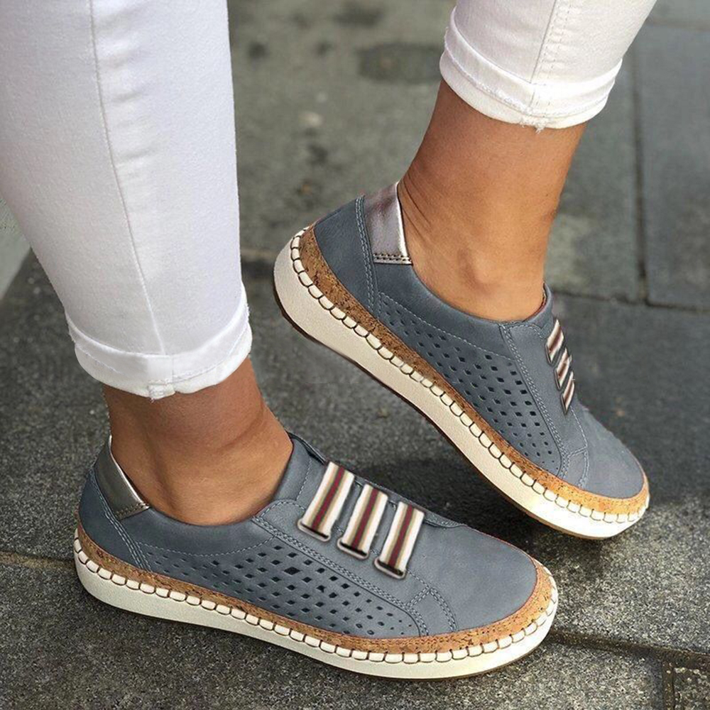Women Casual Hollow Out Breathable Flats