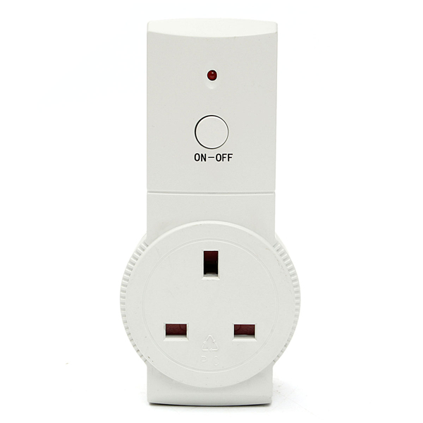 2/4Pcs 230V Wireless Remote Control Socket Switch AC Power Energy Outlet UK