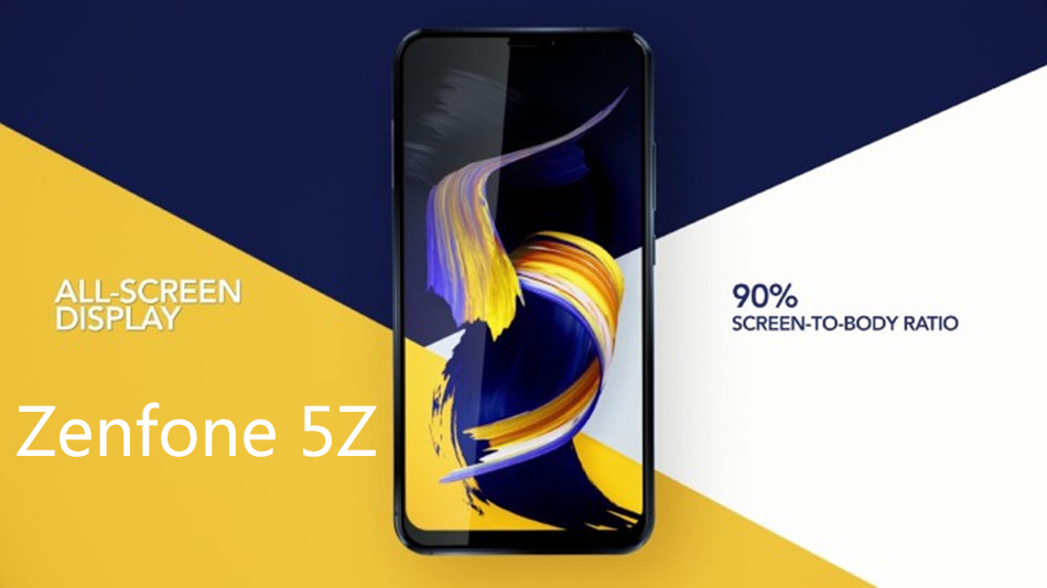 ASUS ZenFone 5Z Global Version 6.2 Inch 8GB RAM 256GB ROM Snapdragon 845 2.8GHz Octa Core 4G Smartphone