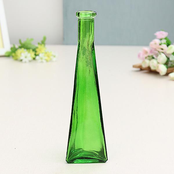 Color Clear Mini Glass Vase Zakkz Flower Bottle Glass Ornaments Flower Arrange Home Decor