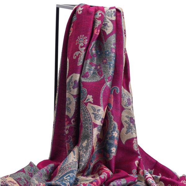 LYZA Womens Ethnic Printing Warm Scarf Shawl