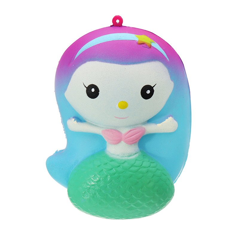 Chameleon Symphony Mermaid Squishy 7*10*5.5cm Slow Rising With Packaging Collection Gift