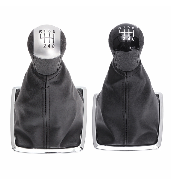 6 Speed Gear Shift Knob Stick Lever Gaiter Boot Cover For Ford Mondeo MK2 04-11