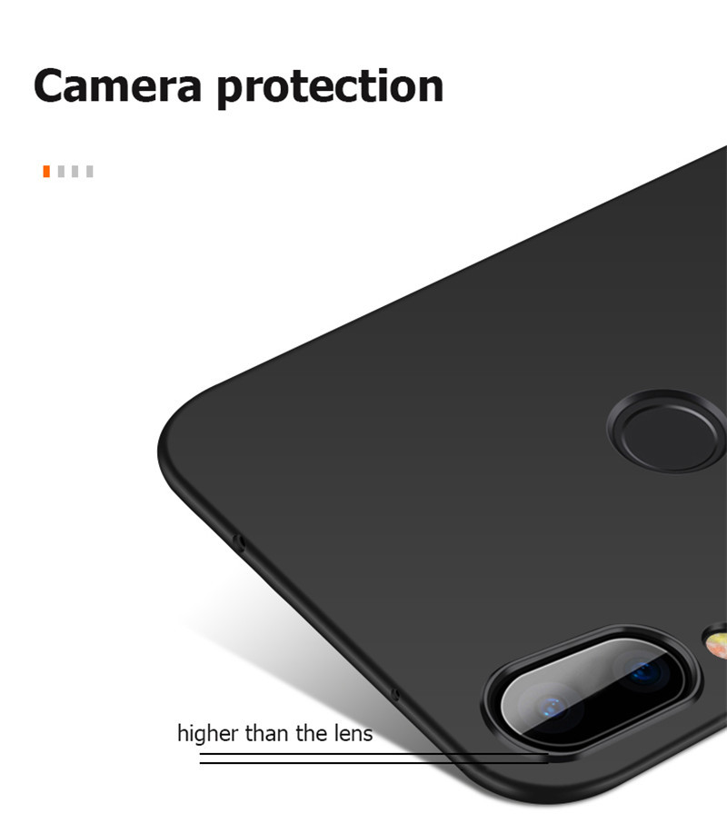 Bakeey Matte Ultra Thin Shockproof Hard PC Back Cover Protective Case for Xiaomi Redmi Note 7 / Note 7 Pro