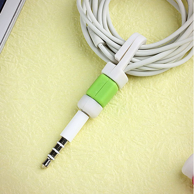 Creative Line Protection Case For iPhone Earphones Headphone Line Storage Protection Sets