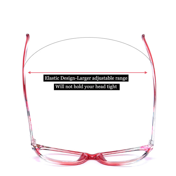 Unisex HD Resin PC Full Frame Reading Glasses