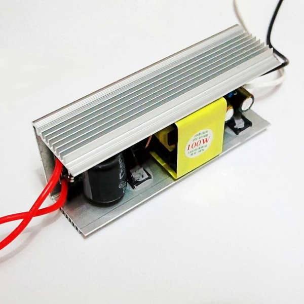 AC85-265V TO DC18-36V 100W LED Constant Current Driver Power Supply For Chip Light Flood Lamp