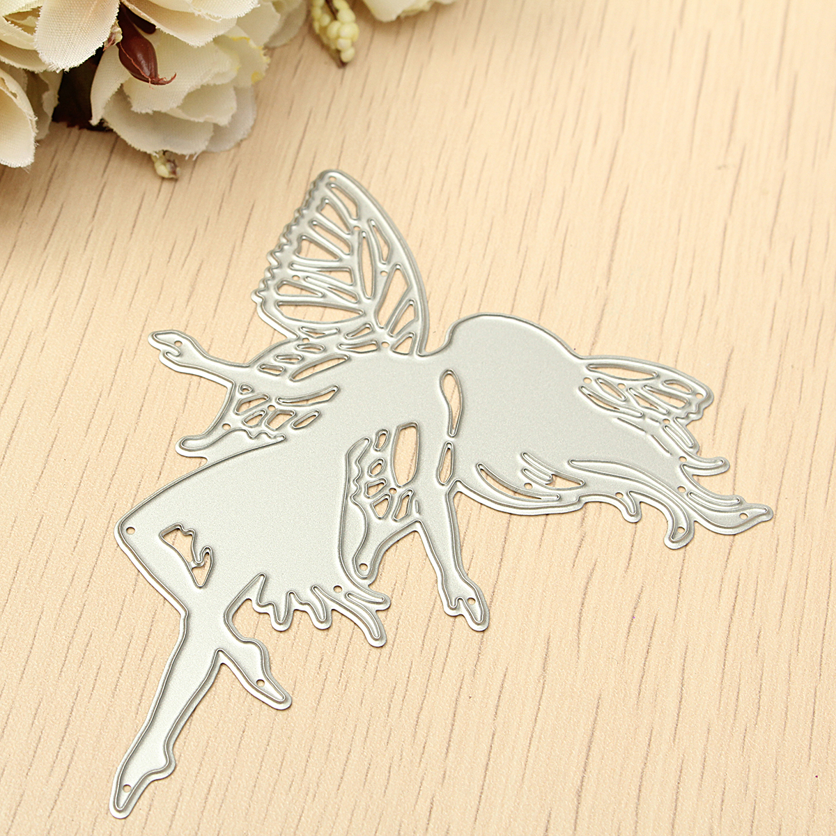Girl Cutting Dies Scrapbooking Stencils Album Paper Card Diary Handicraft Decoration