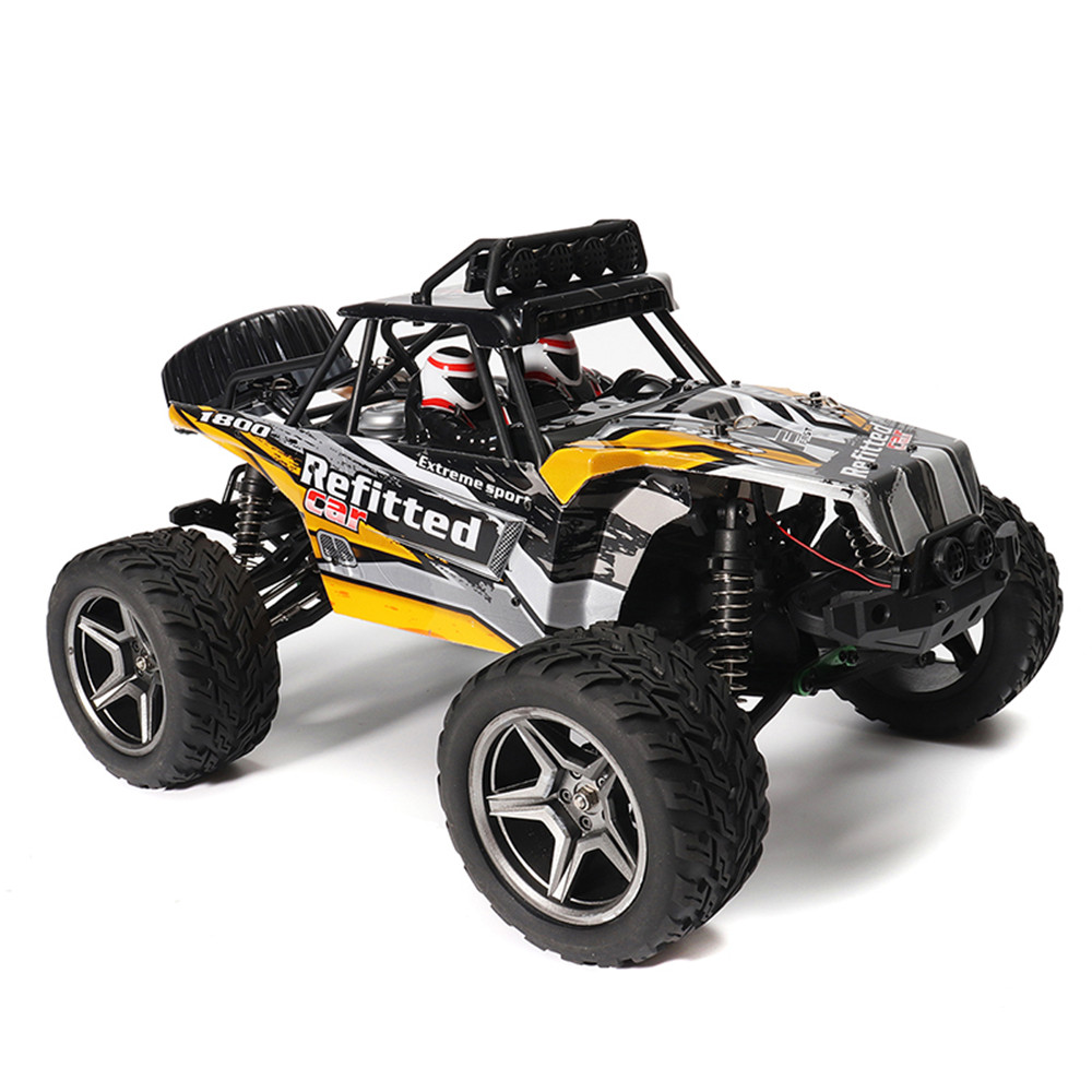 Wltoys A343 1/12 2.4G 2WD 35km/h Racing Rc Car Desert Off-road Truck Toys With Led Light - Photo: 2