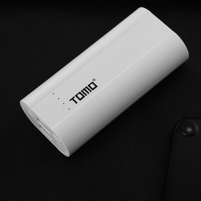 TOMO P2 Power Bank Charger Battery DIY Box Battery 2x18650 for Samsung S8 S9 Note 8