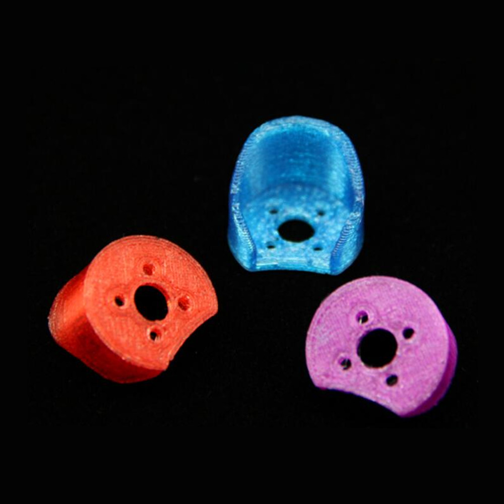 4 PCS 3D Printed TPU Protective Motor Mount Cover for 1106 Brushless Motor RC Drone