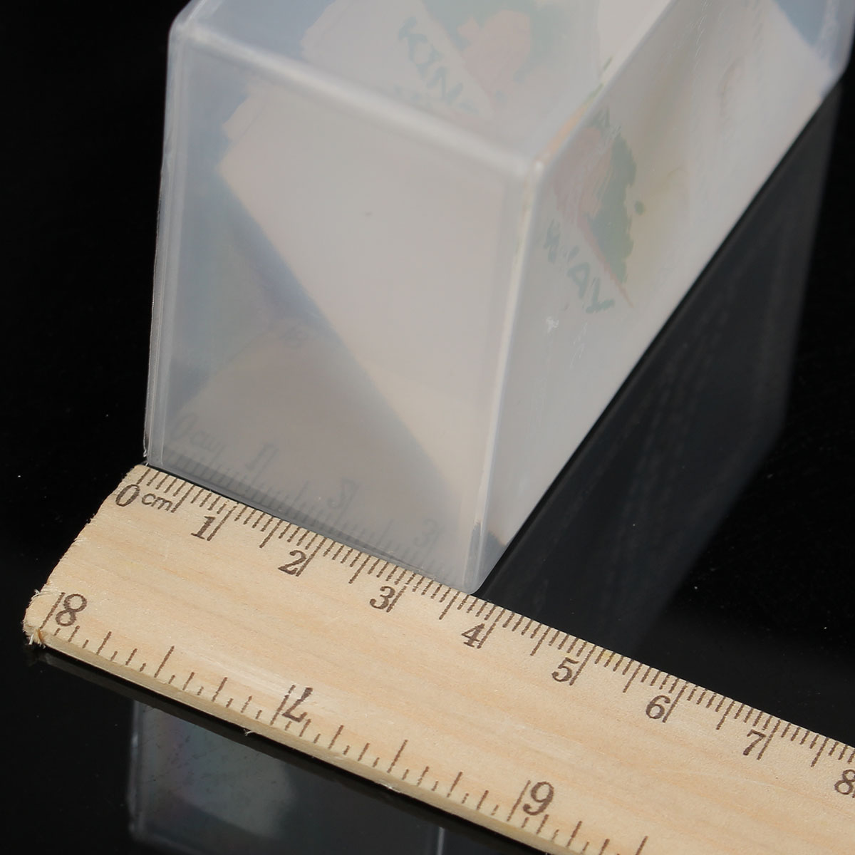 1pcs Business Card Boxes Clear Plastic Craft Parts Beads Box Holder Container