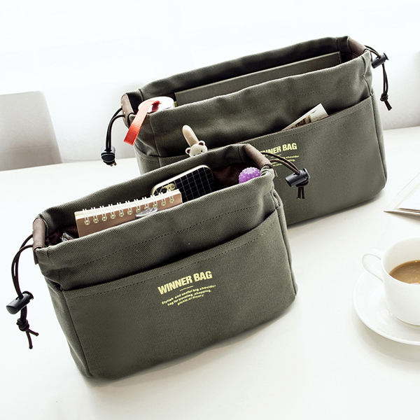 Women Portable Canvas Storage Bag Travel Cosmetic Bag