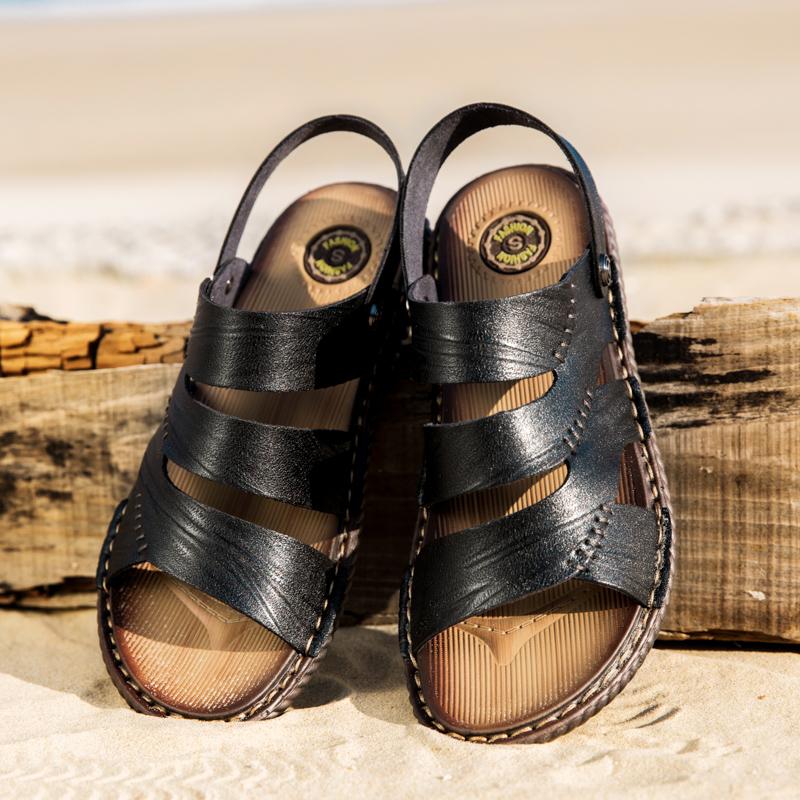 Men Hollow Out Beach Sandals