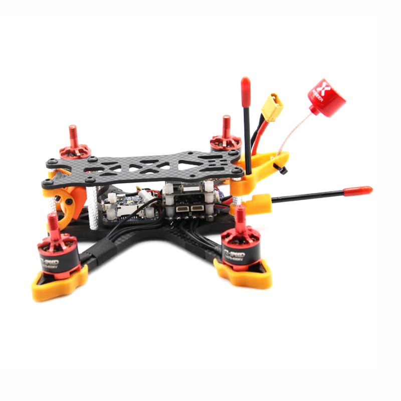 ZJWRC 140mm Wheelbase 3 Inch 4mm Arm Carbon Fiber FPV Racing Frame Kit for RC Drone - Photo: 3