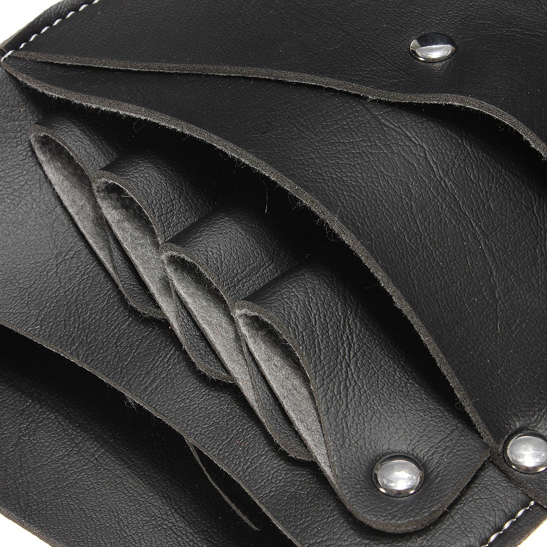 PU Leather Barber Hair Scissor Bag Hairdressing Holster