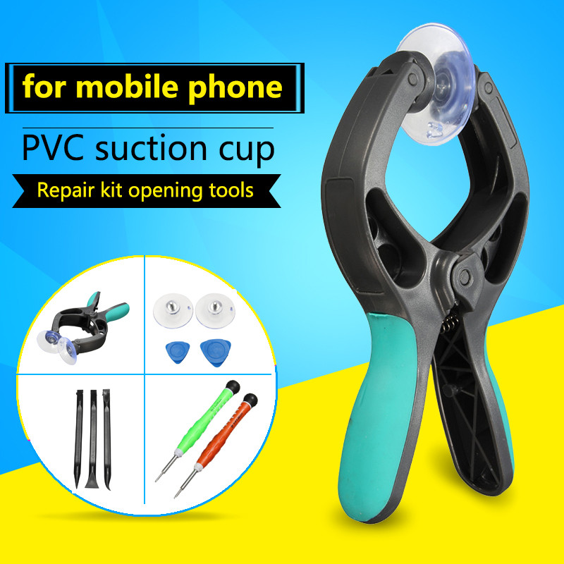 10 in 1 Mobile Phone Repair Tools Kit LCD Screen Opening Pliers Tool Screwdrivers Pry Suction for Disassembly iPhone 5 5s 6 6s