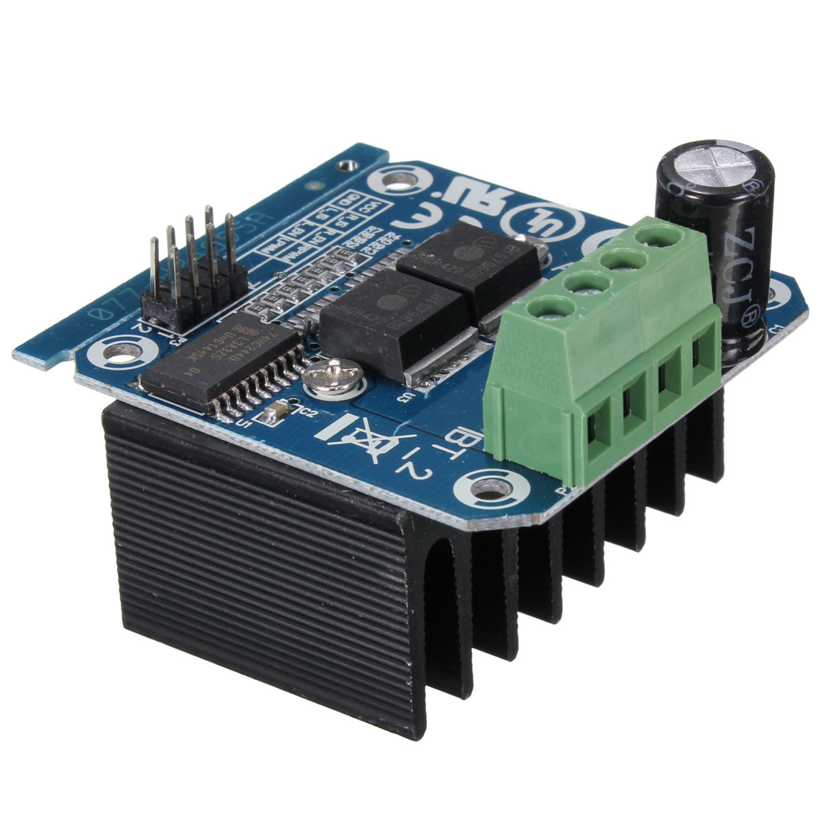 Semiconductor Bts7960b Motor Driver Module 43a H Bridge Drive Pwm Amplifier It Is Such A Complete Hbridge For Arduino
