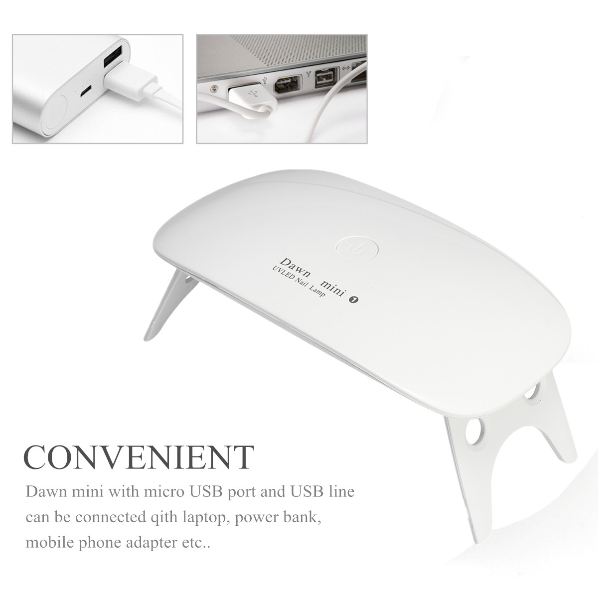USB Mini UV LED Nail Dryer Lamp