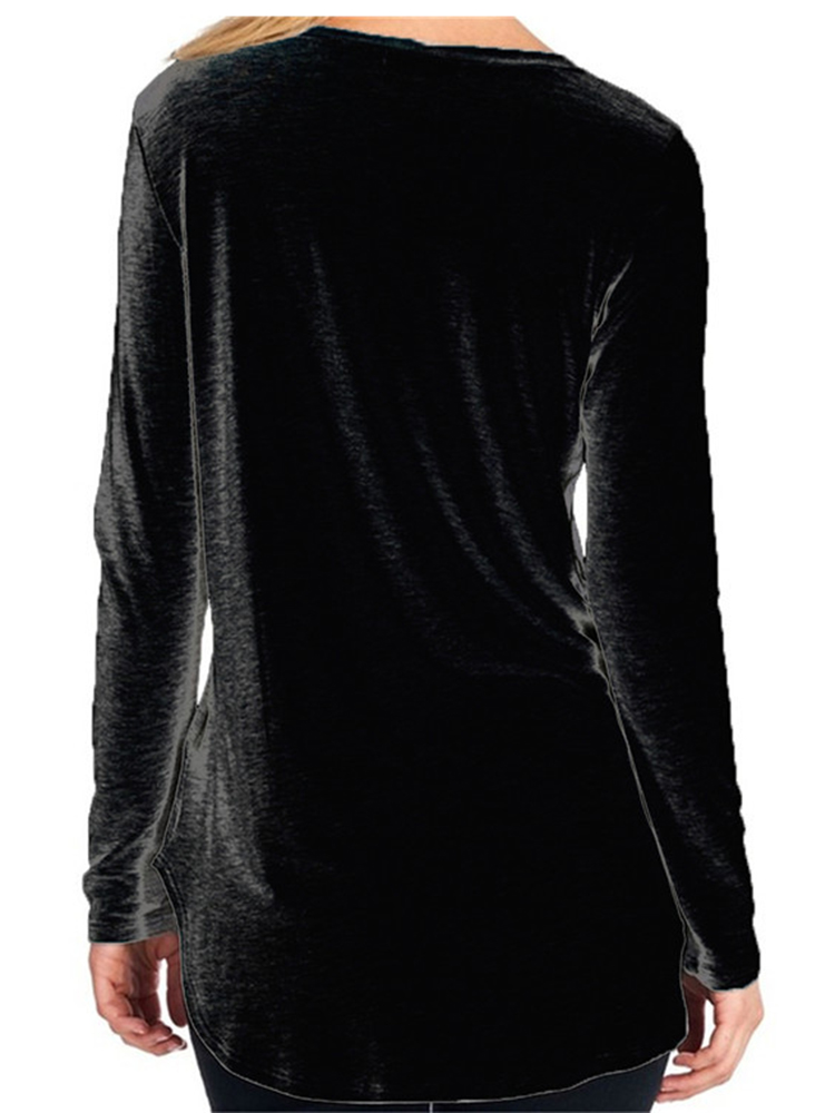 Casual Loose Long Sleeve T-Shirts